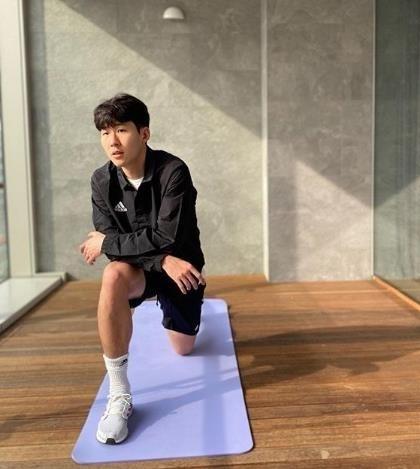 Son Heung-min (Screenshot of Son's Instagram)