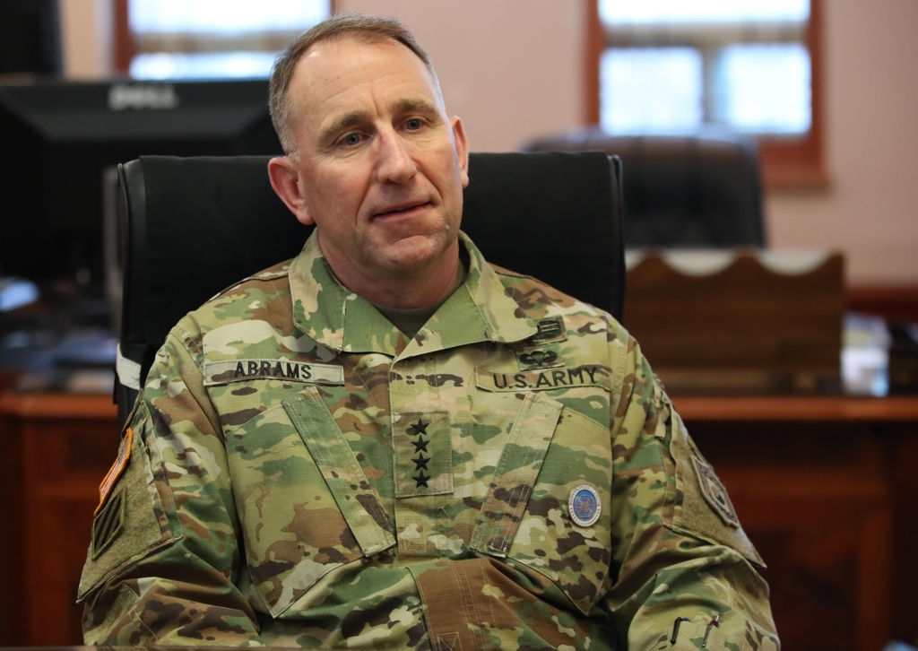Gen. Robert Abrams (Yonhap)