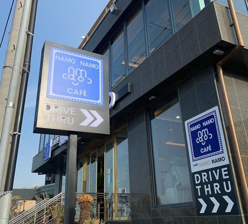 Namo Namo Cafe provides a drive-thru service amid the COVID-19 pandemic. (Namo Namo Café's Instagram account)