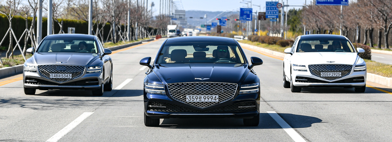 Genesis' all-new G80 (Hyundai Motor Group)