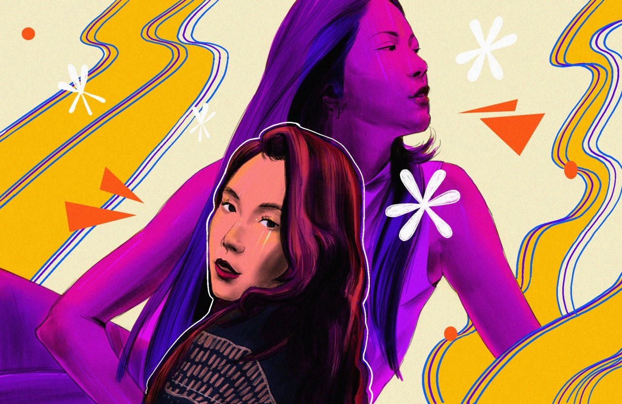 """This year marks the 20th anniversary of BoA's debut album """"ID; Peace B."""" (Illustration by Lauren Stewart)"""