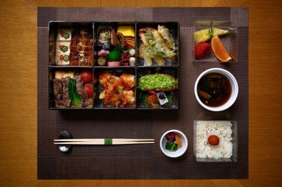Meal set option from Japanese restaurant Momoyama at Lotte Hotel Seoul (Hotel Lotte)