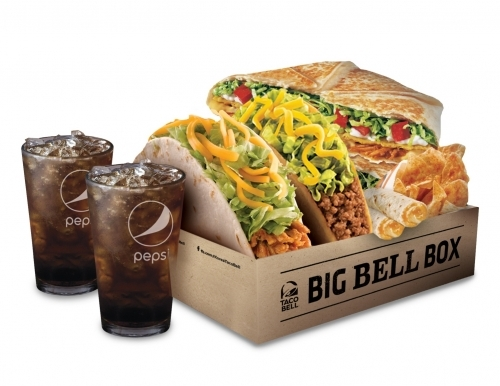 Delivery set from Taco Bell (Kalisco)