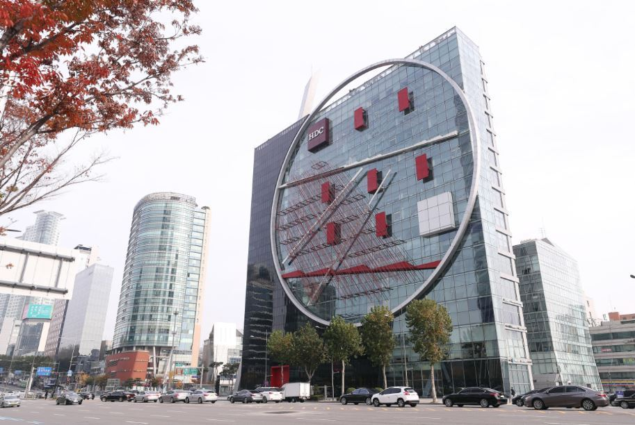 This image shows one of HDC Hyundai Development Company`s offices in Seoul. (Yonhap)