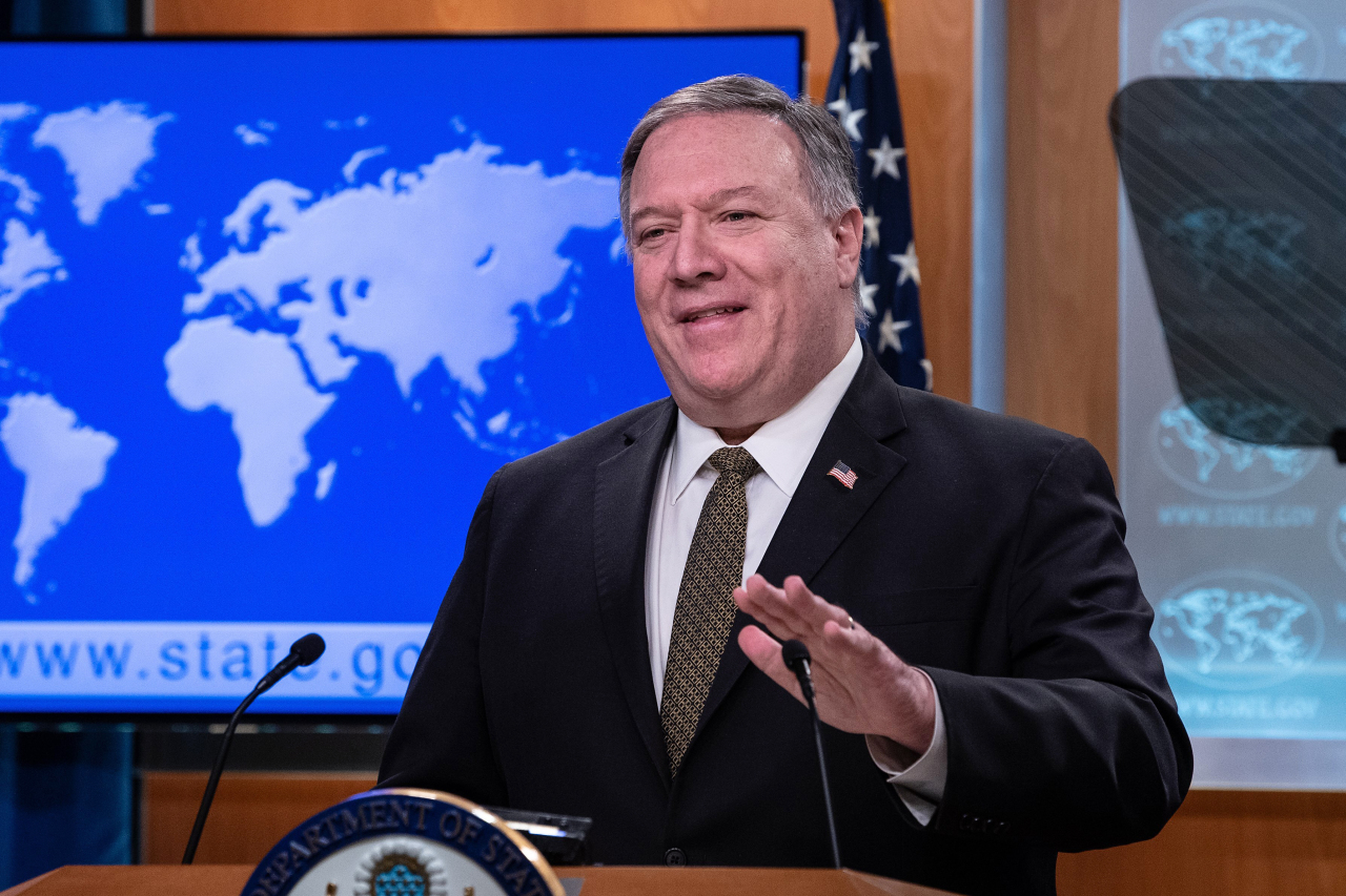 US Secretary of State Mike Pompeo (AP-Yonhap)