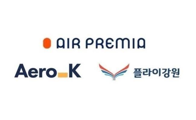 (Air Premia, Aero K, Fly Gangwon)