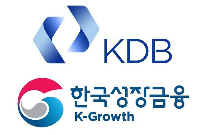 Logos of KDB (top) and K-Growth