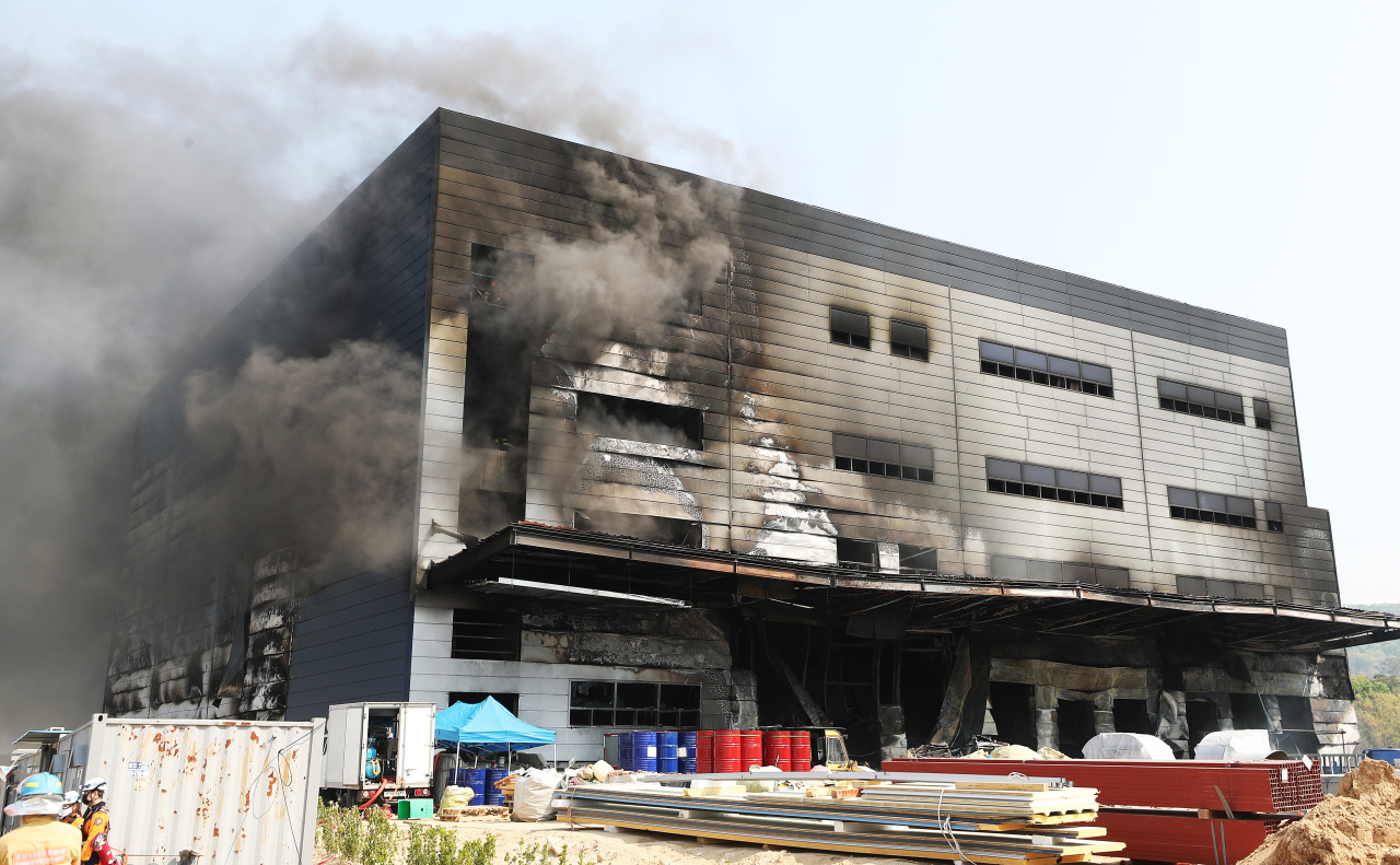 8 dead, 10 missing in construction site fire in South Korea