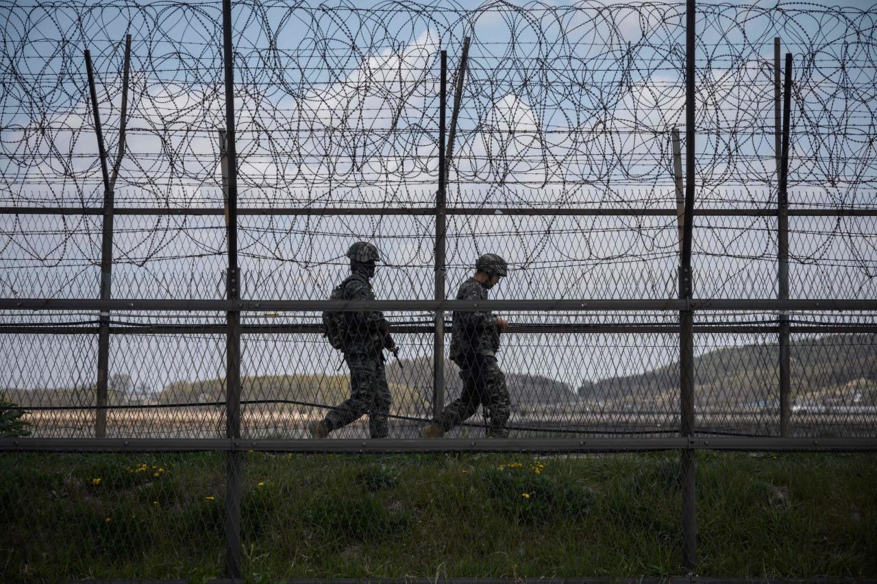 Korea border gunfire marks Kim's 'return'