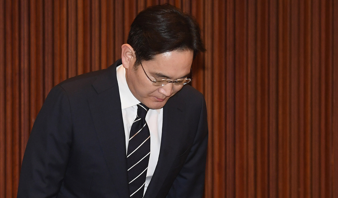Samsung Electronics heir and Vice Chairman Lee Jae-yong (Yonhap)