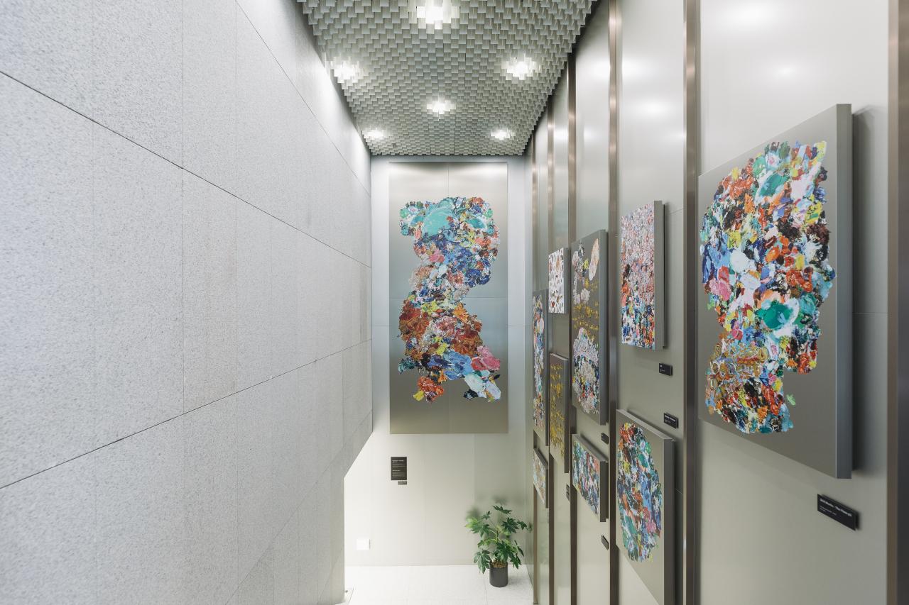 Art made with Innovilt steel frames (Posco)