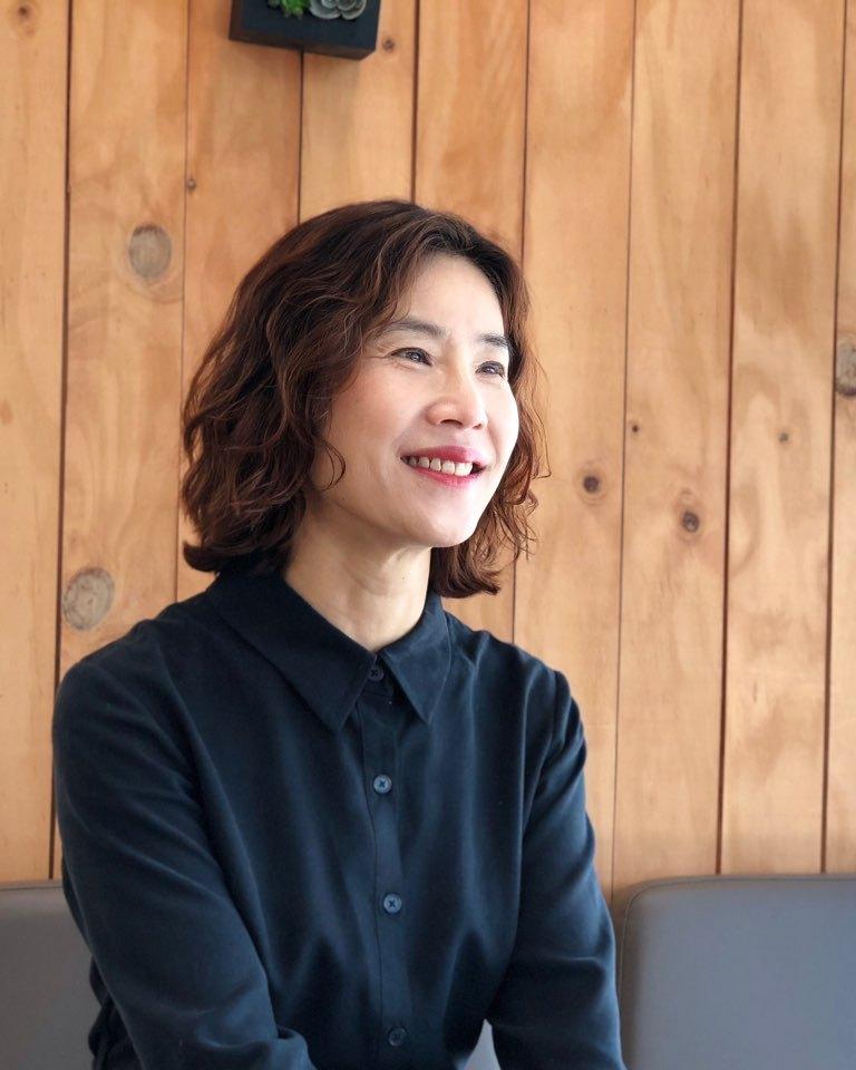 Chung Hyun-sook, senior executive producer at Korea Educational Broadcasting System (courtesy of Chung Hyun-sook)