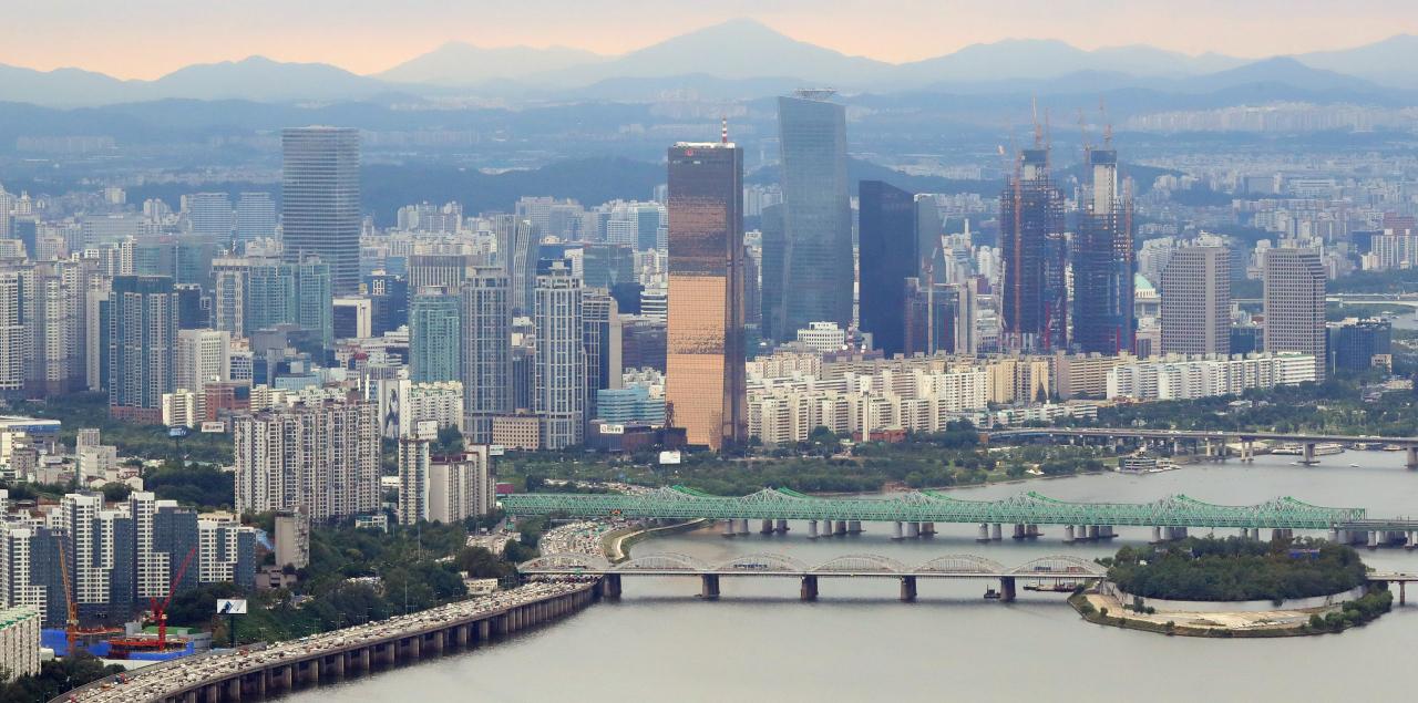 An aerial view of Seoul (Yonhap)