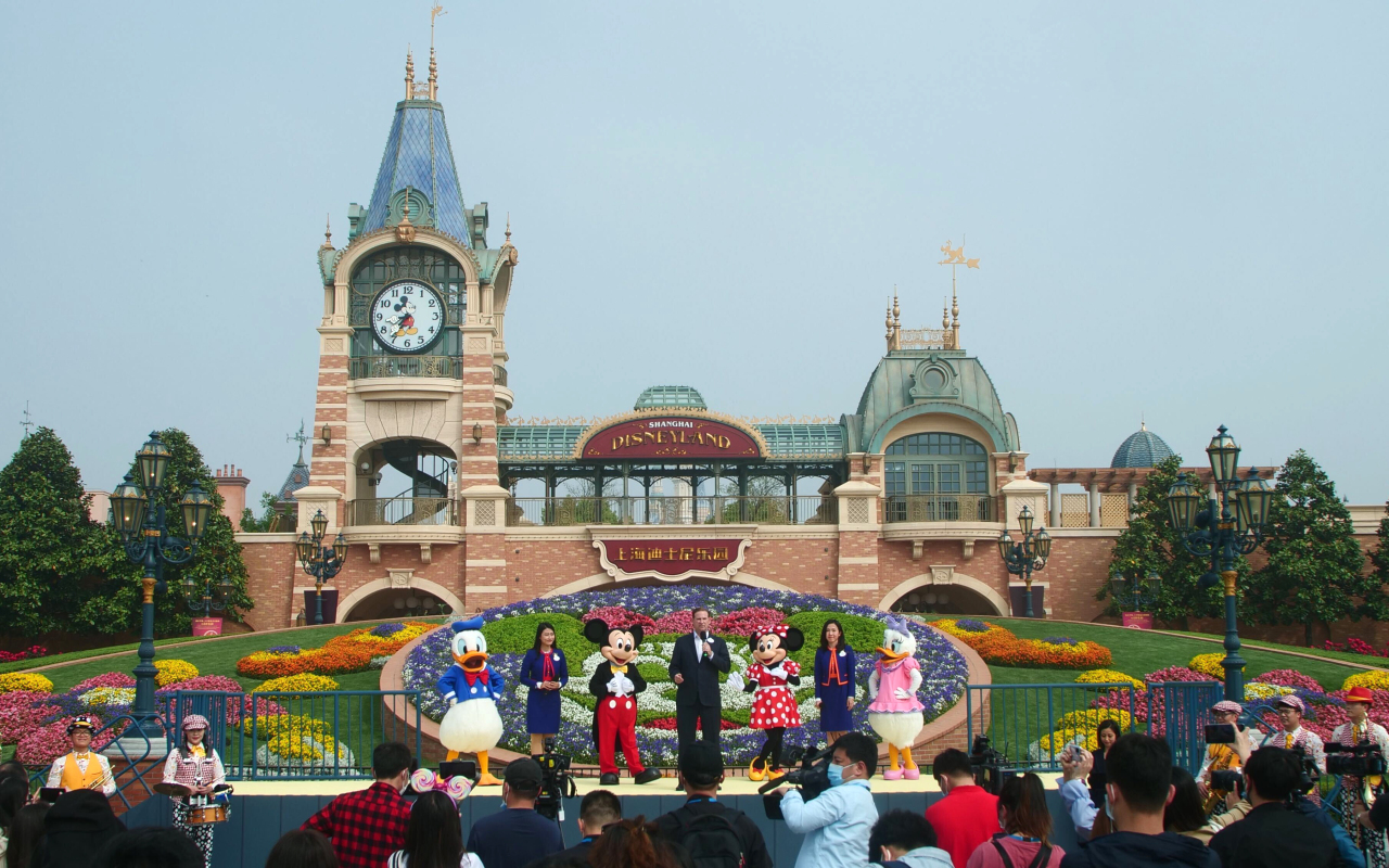 Shanghai Disneyland (AP-Yonhap)