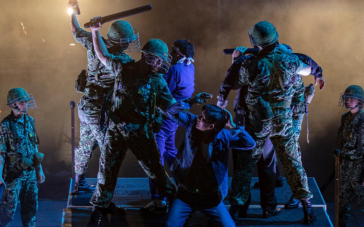 """A scene from """"I Was Not in Gwangju"""" (Asia Gwangju Democratic Uprising Culture Center)"""