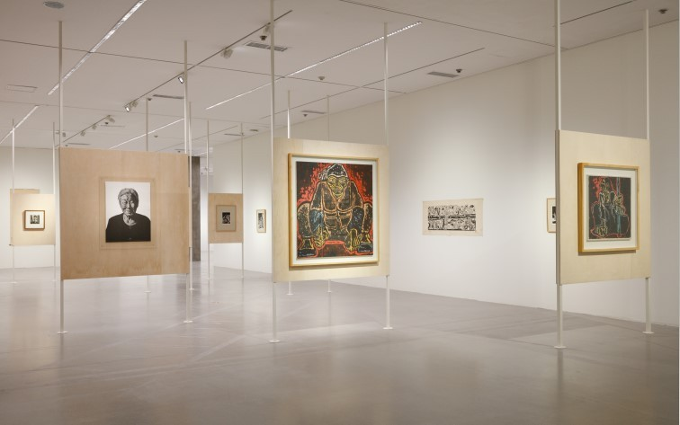 "Installation view of ""Prints, Printmaking, Graphic Art"" at MMCA's Gwacheon venue (MMCA)"
