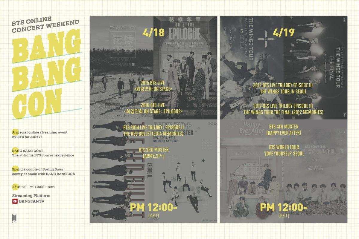"""""""Bang Bang Con"""" (Big Hit Entertainment)"""