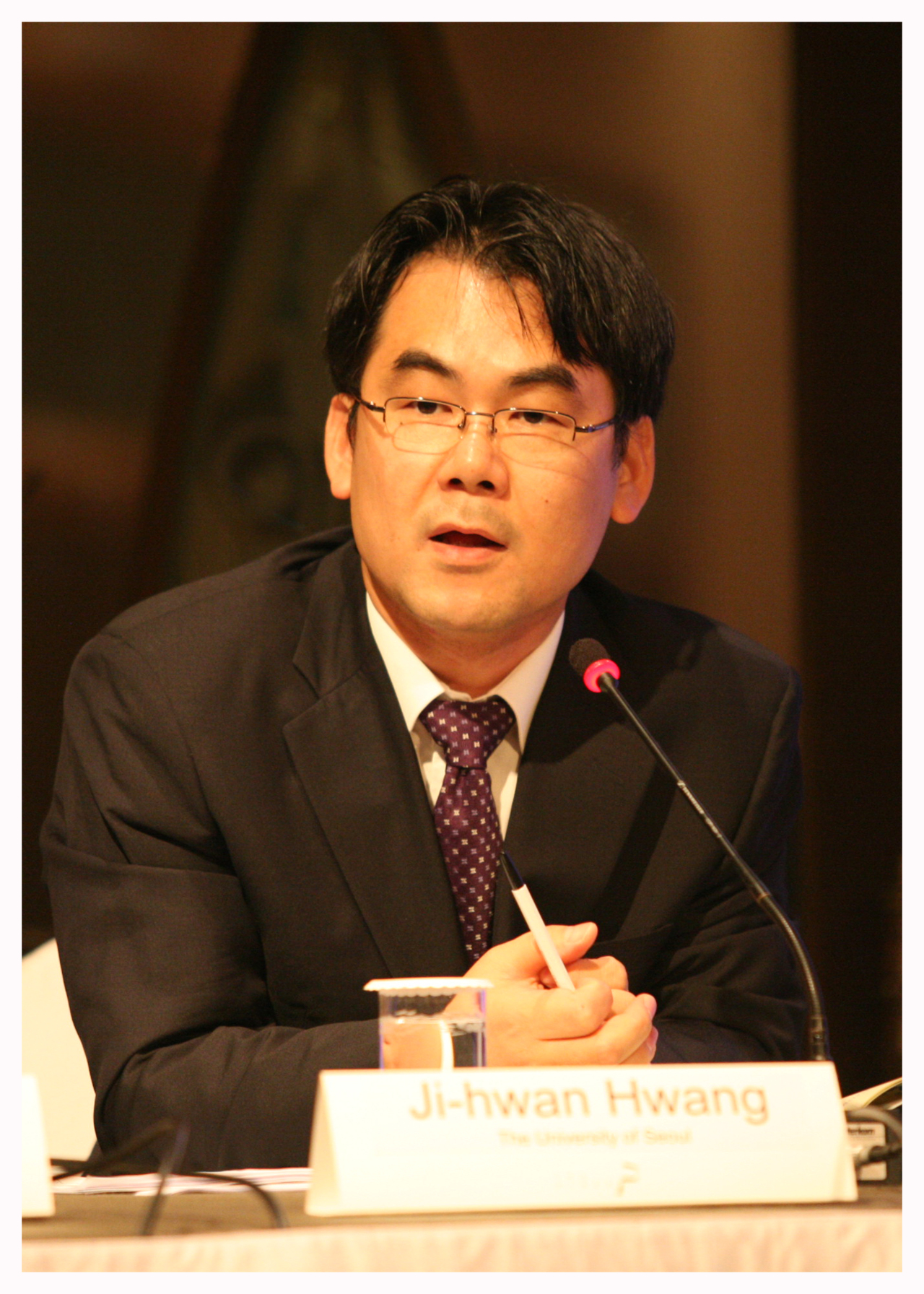 Professor Hwang Ji-hwan