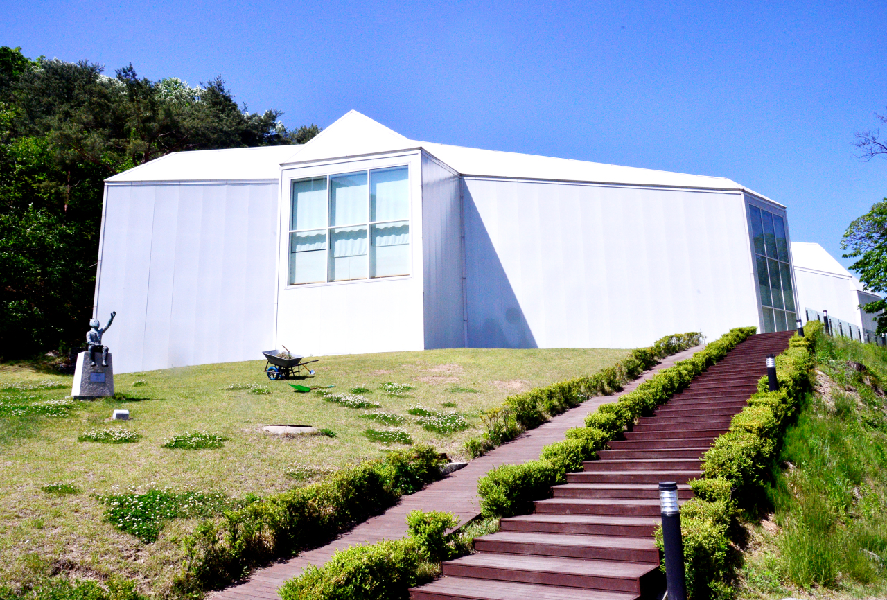 The Chang Ucchin Museum of Art in Yangju, Gyeonggi Province (Park Hyun-koo/The Korea Herald)