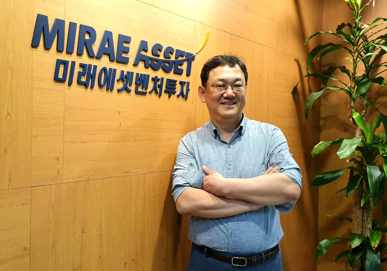 Chae Jung-hoon, managing director of venture capital firm Mirae Asset Venture Investment (The Korea Herald / Kim Young-won)
