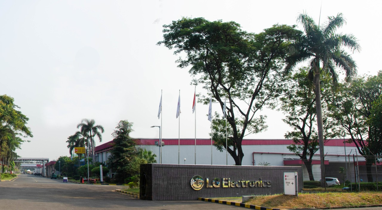 LG Electronics' TV plant in Indonesia (LG Electronics)