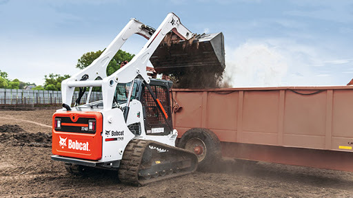 A loader manufactured by Doosan Bobcat (Doosan Bobcat)