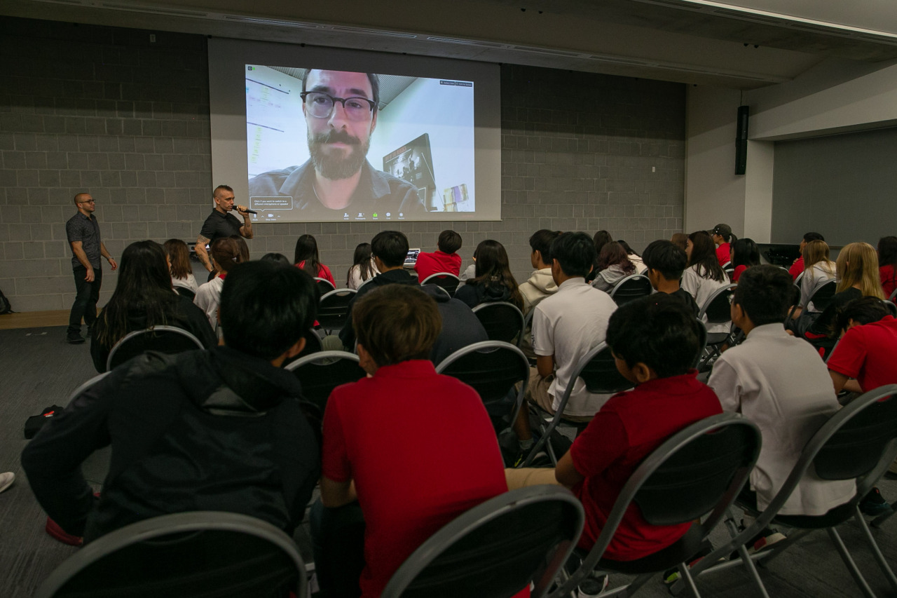Inspire Citizens launching a project with SFS Middle School students through innovative approaches to learning through service, action, and global citizenship.(Seoul Forein School)