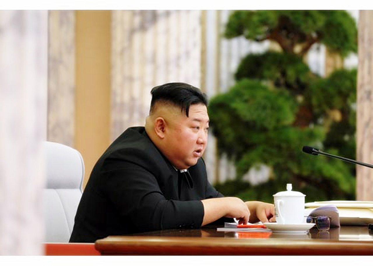 (Screenshot captured from Rodong Sinmun-Yonhap)