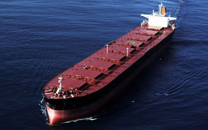 A dry bulk carrier (H-Line Shipping)