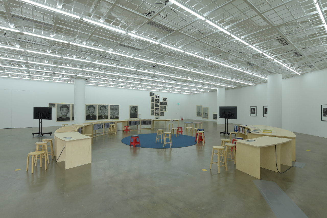 "Installation view of ""MaytoDay"" at Art Sonje Center in Jongno-gu, central Seoul (Gwangju Biennale Foundation)"
