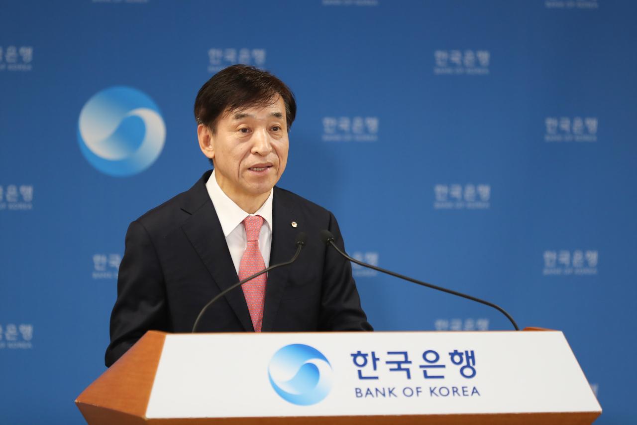 Bank of Korea Gov. Lee Ju-yeol. (BOK)