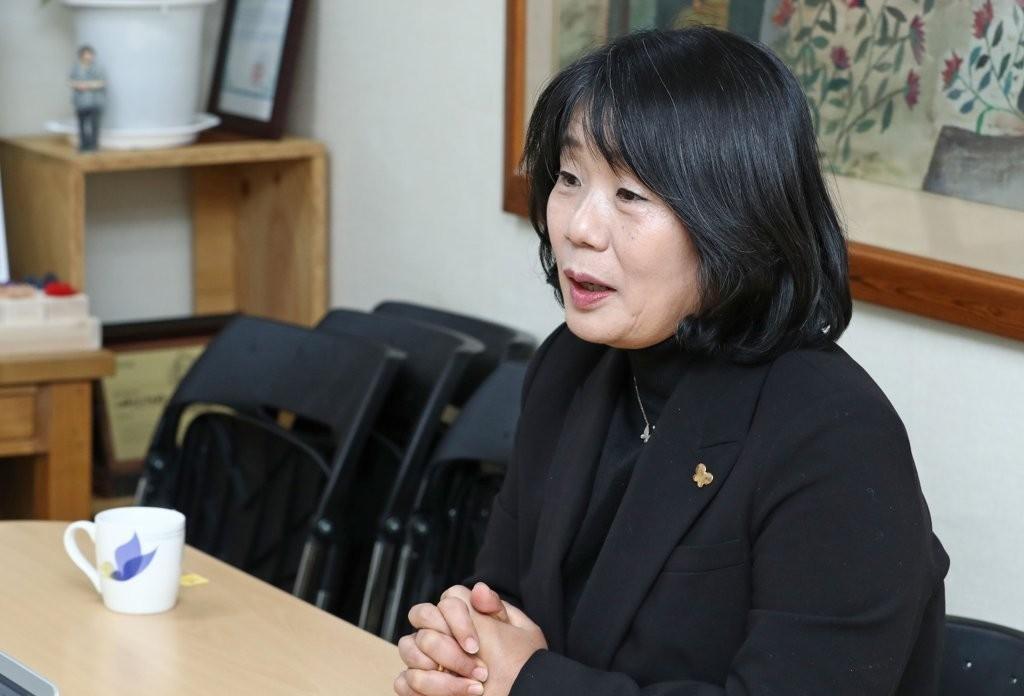 Lawmaker-elect Yoon Mee-hyang (Yonhap)