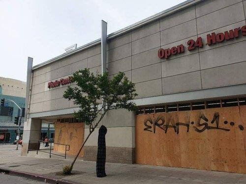 (Korean residents' association in Los Angeles)