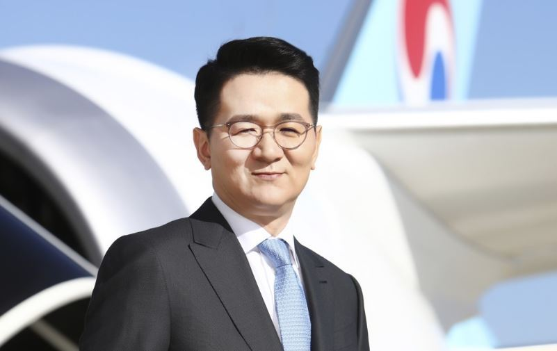 Cho Won-tae CEO of Hanjin Group (Yonhap)