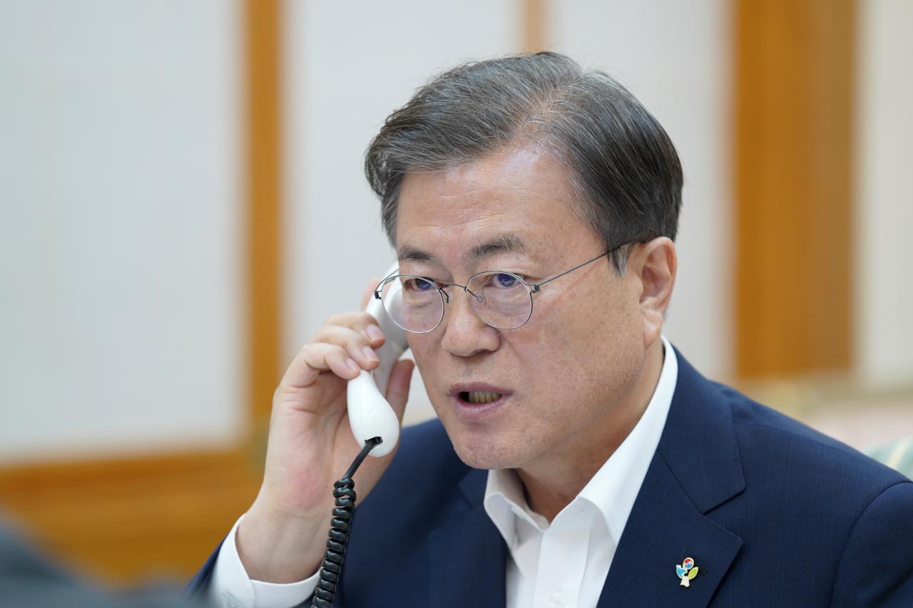 (Cheong Wa Dae-Yonhap)