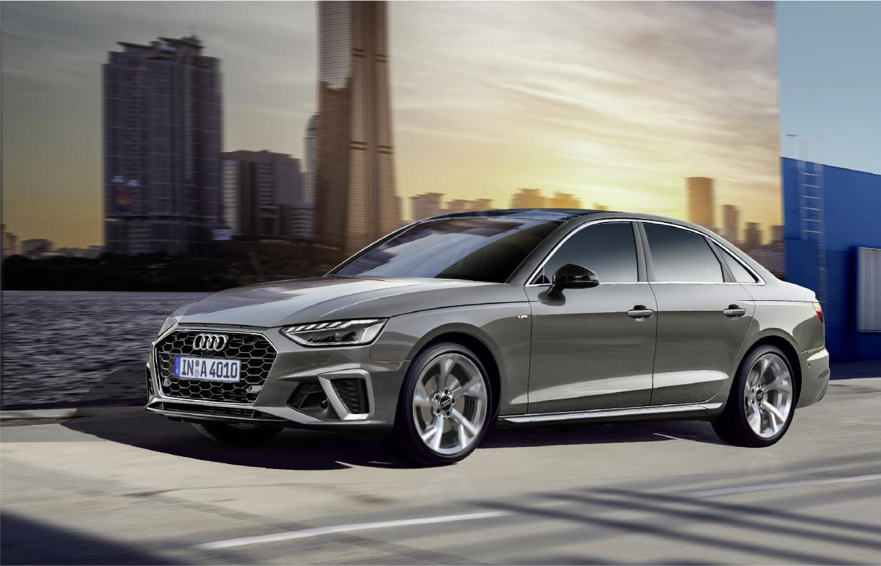 The new Audi A4 (Audi Volkswagen Korea)