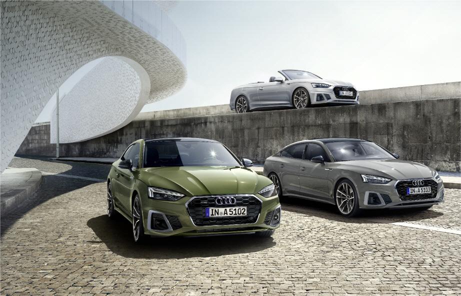 The new Audi A5 (Audi Volkswagen Korea)