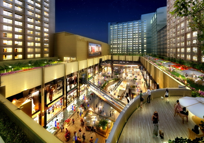 A promotional image of Gwanggyo Central Prugio City