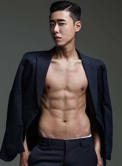 Kim Tae-hwan's body profile photo after 12 weeks of training. (Courtesy of Kim Tae-hwan)