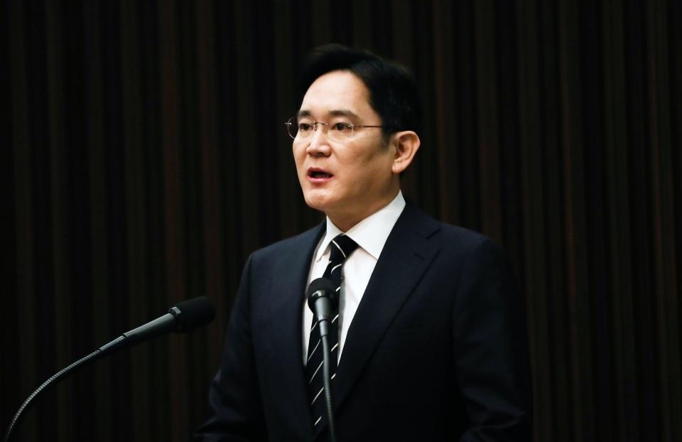 Samsung Electronics Vice Chairman Lee Jae-yong (Yonhap)