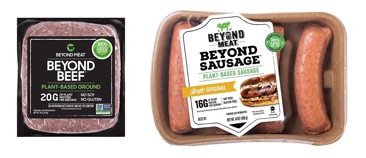 Beyond Meat products (Dongwon F&B)