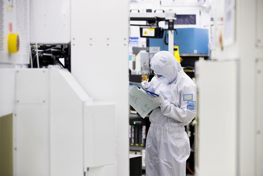 Samsung semiconductor fab in Hwaseong, Gyeonggi Province (Samsung Electronics)
