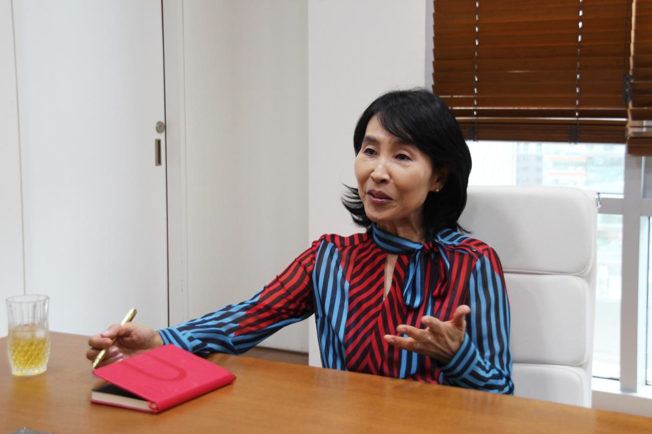 Medipost CEO Yang Yoon-sun (Lim Jeong-yeo/The Korea Herald)