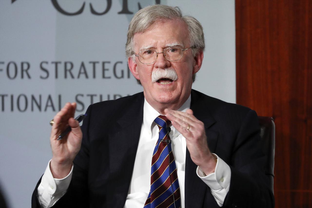 Former US national security adviser John Bolton (Yonhap)