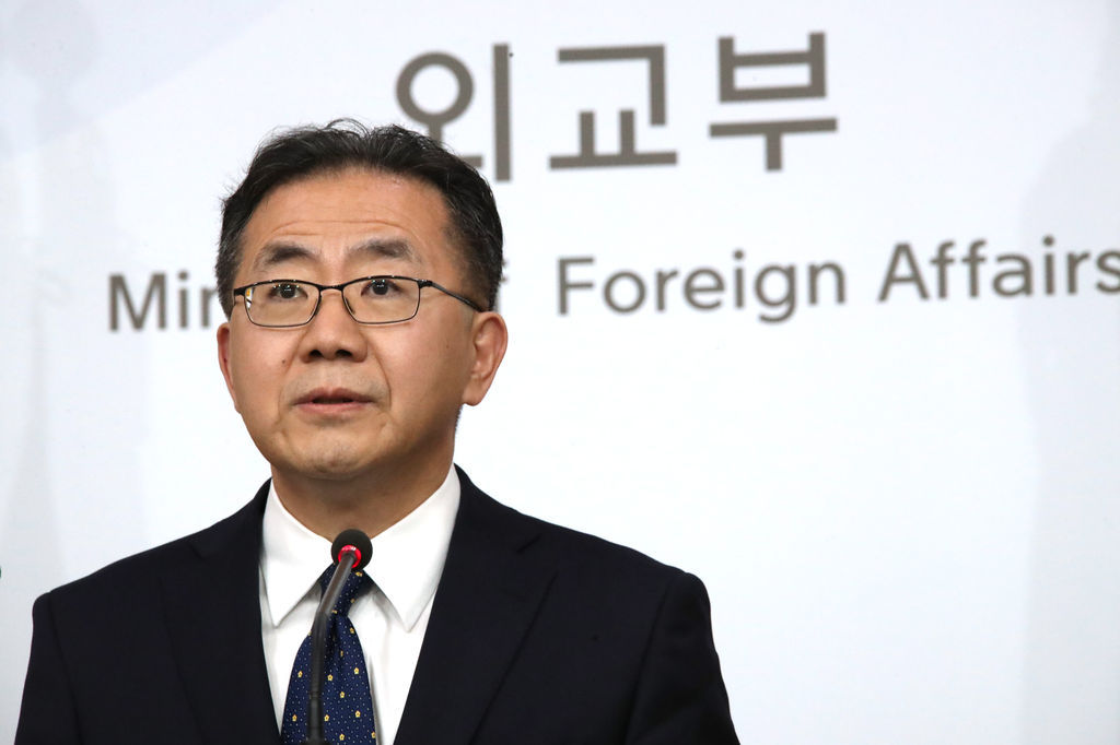 Kim In-chul, spokesman for the foreign ministry (Yonhap)