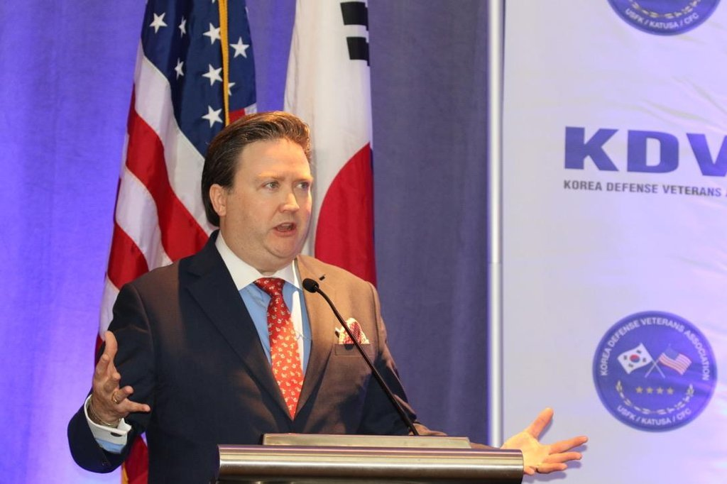 US Deputy Assistant Secretary of State for Korea and Japan Marc Knapper (Yonhap)