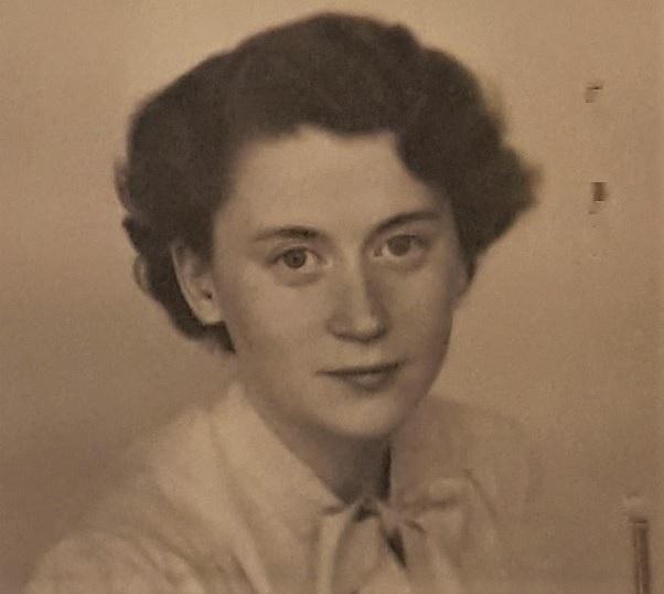 Jutta Andersson in 1950
