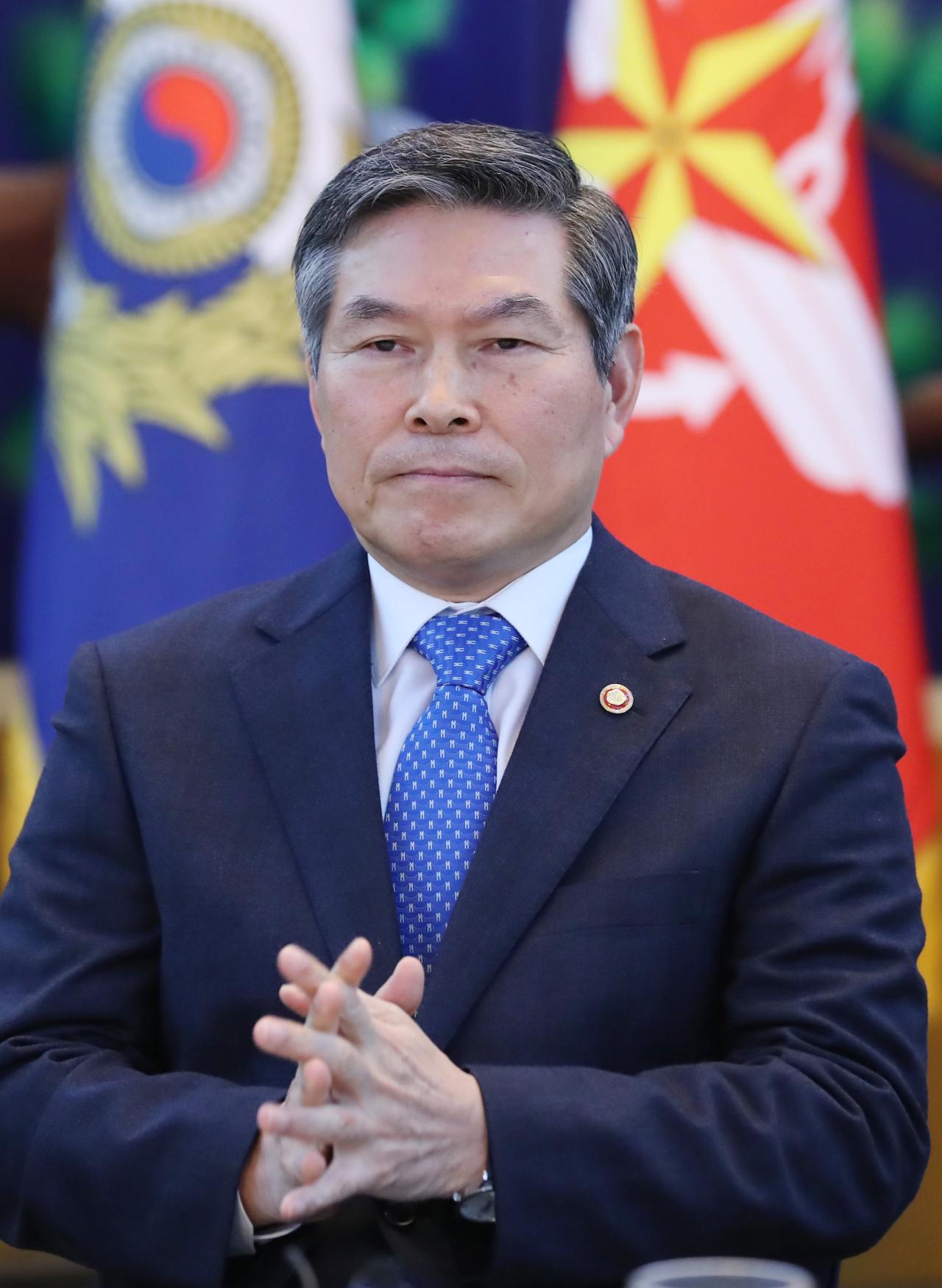 Defense Minister Jeong Kyeong-doo (Yonhap)