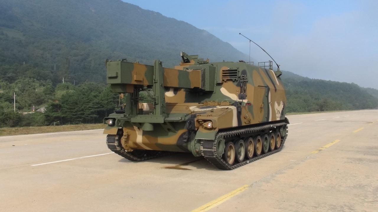 Hanwha Defense's K56 ammunition resupply vehicle (Hanwha Defense)