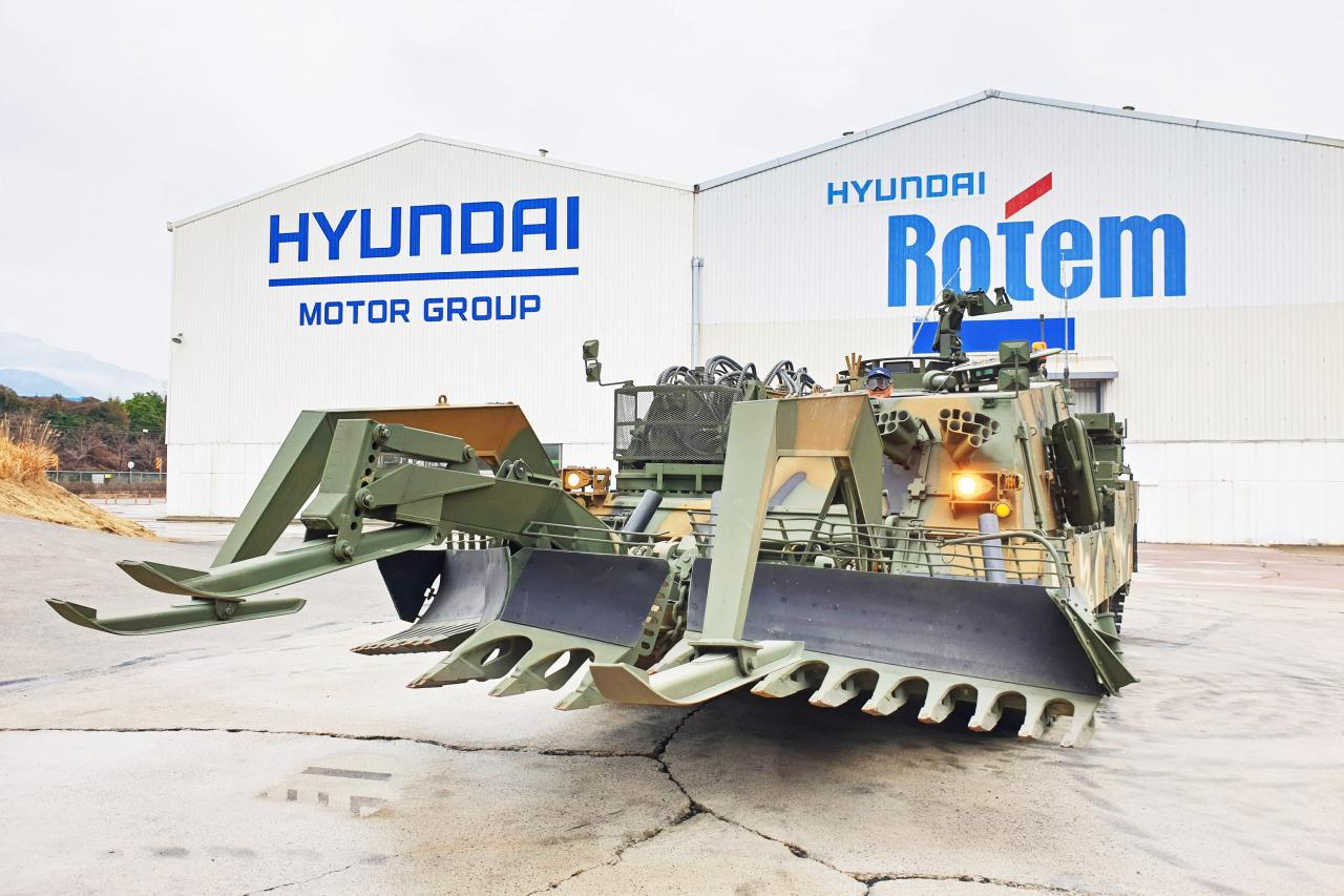 Hyundai Rotem's combat engineering vehicle (Hyundai Rotem)